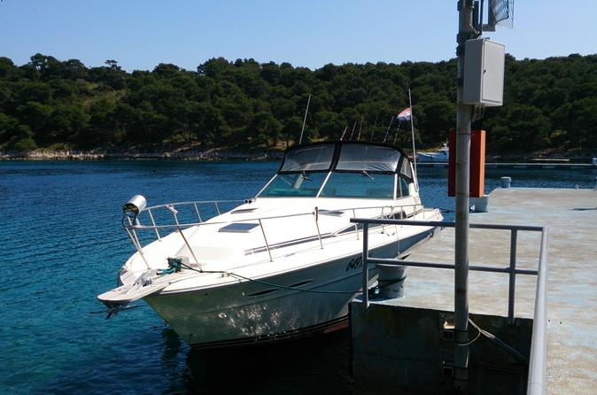 Private Speed Boat Transfer from Split Airport to Hvar
