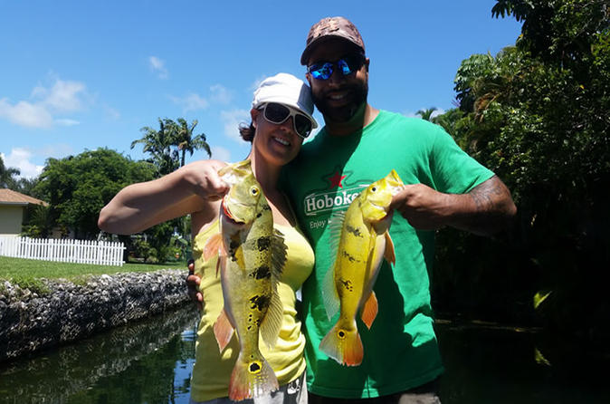 4 hour peacock bass fishing trip near palm beach in palm beach 328878