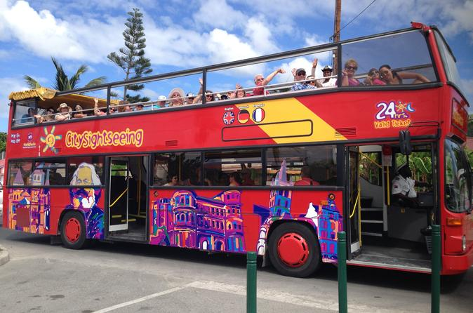 St Maarten Double Decker Bus Tour