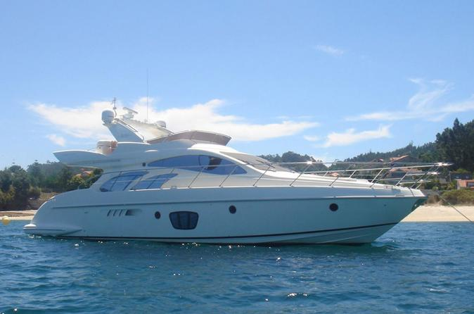 55' Azimut Yacht Charter with Captain and Mate