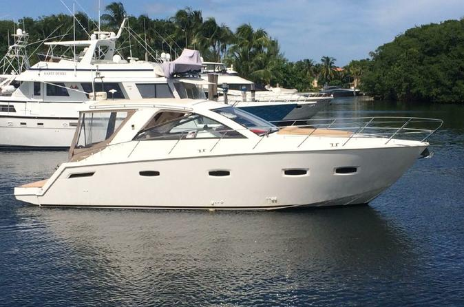 Private Half-Day or Full-Day Yacht Charter with Captain From Miami