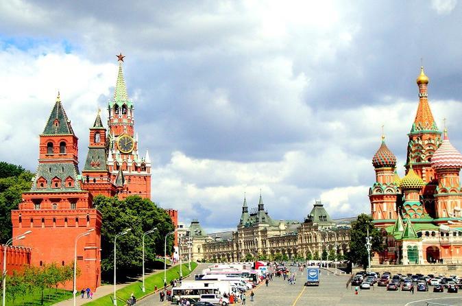 Excursão particular pela cidade de Moscou incluindo Praça Vermelha e Kremlin