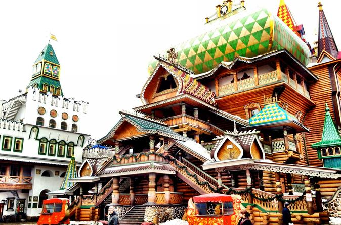 Izmailovo Flea Market and Kremlin in Izmaylovo