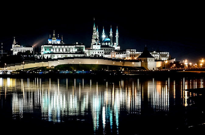 Kazan Night Tour of Must-See Sites with Private Local Guide