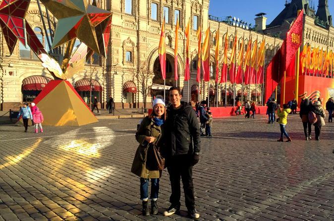 Melhor excursão de Moscou de 3 dias