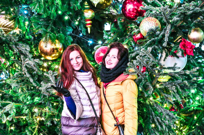 Moscow Christmas Markets and Christmas Lights Tour with a Private Guide