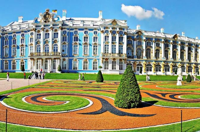 Private Tour of Tsarskoe Selo: Catherine Palace and Park