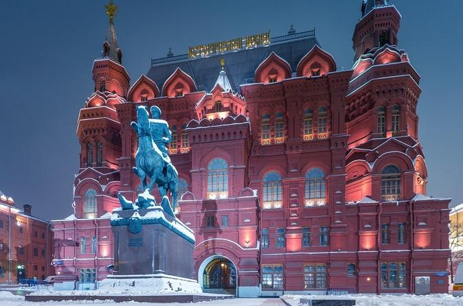 Red Square and State Historical Museum Private Historical Tour in Moscow