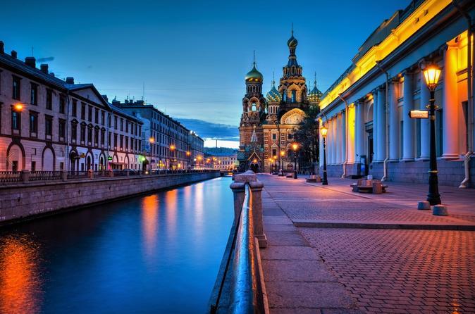 River Boat Trip in St. Petersburg