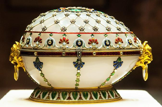 Skip The Line: Legendary Faberge Eggs on Private Tour of Shuvalov Palace