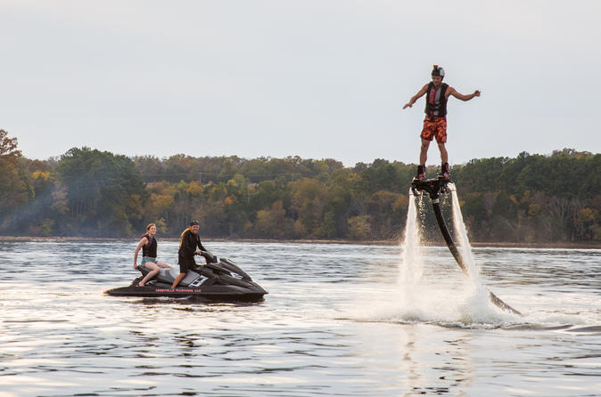 Nashville Flyboard on Percy Priest Lake