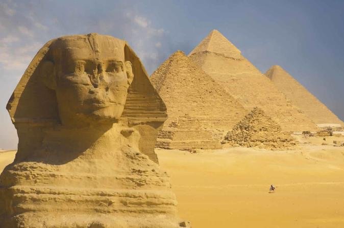 Discover Cairo and Luxor with Aswan over land tour with guide-Flights included
