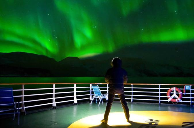 Great Slave Lake Aurora Borealis Boat Cruise