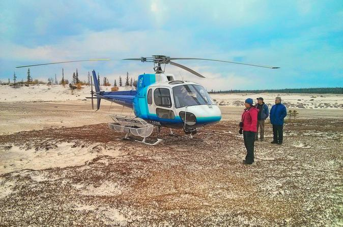 Yellowknife helicopter tour in yellowknife 315632