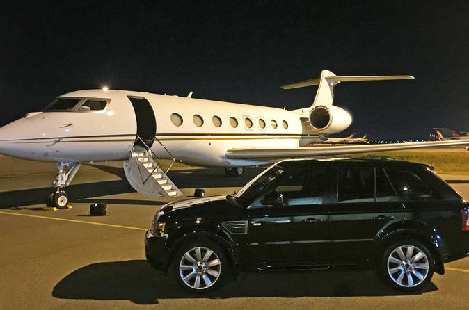 Perth Airport Arrival Transfer by Luxury Vehicle