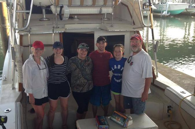 Galveston texas inshore afternoon fishing charter on the sea play iii in galveston 305554