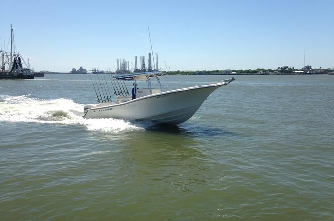 Galveston texas inshore afternoon fishing charter on the sea play iv in galveston 305597