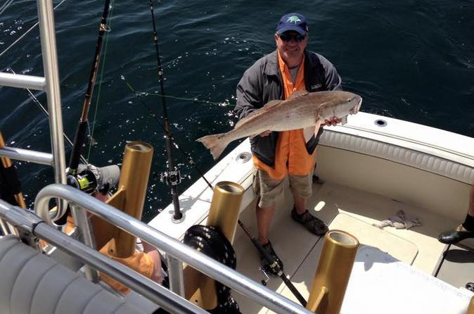Galveston texas inshore morning fishing charter on the sea play iii in galveston 305575