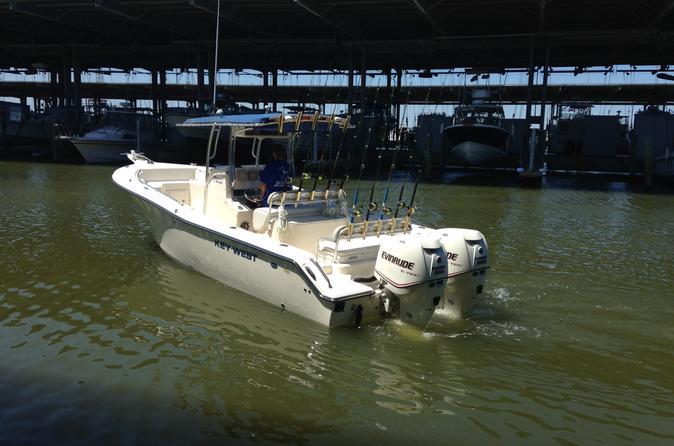 Galveston texas inshore morning fishing charter on the sea play iv in galveston 305488