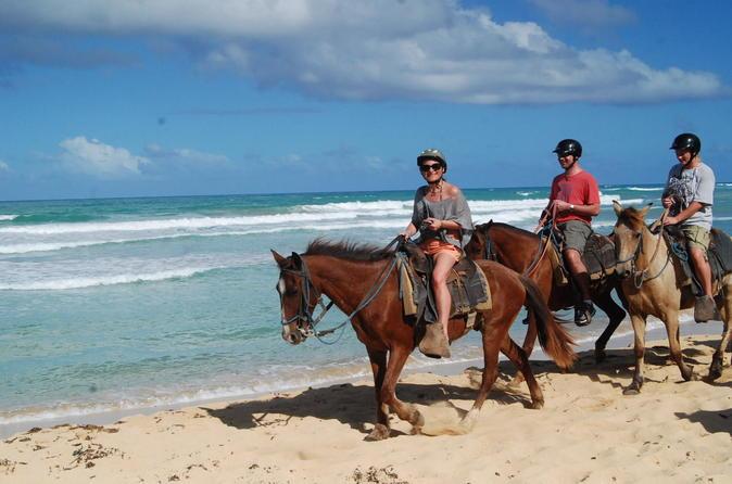 2 Horas de aventura a cavalo saindo de Punta Cana