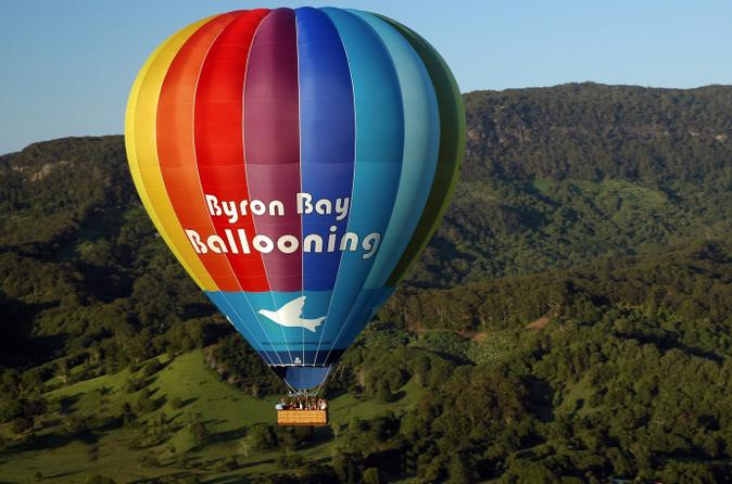 Hot Air Balloon Flight over Byron Bay