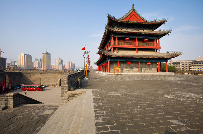 Full-Day Private Tour of Terra-cotta Warriors and City Wall from Xi'an