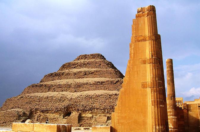 Day Tour To Giza Pyramids & Sakkara From Port Said Port