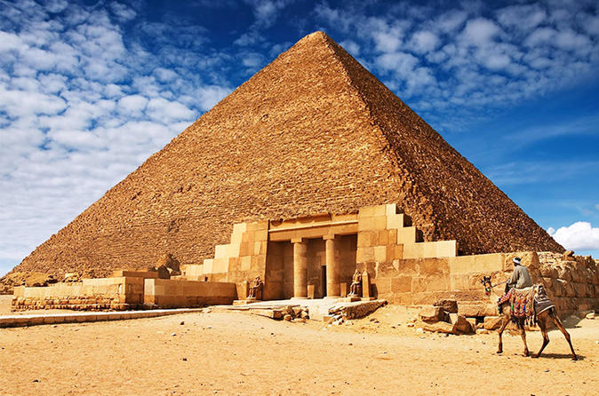 Day Trip to The Great Pyramids & Sakkara Pyramids
