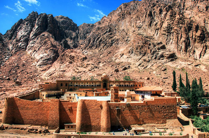 Mt Sinai Sunrise And St Catherine Monastery Tour From Taba - Eilat