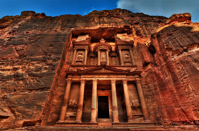 Petra Tour From Taba By Ferry Boat