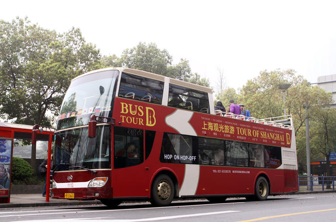 Hop-On-Hop-Off Shanghai Bus Tour
