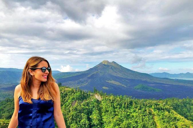 Viagem diurna particular a Ubud e ao Vulcão