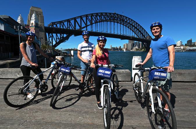 Sydney Self-Guided Bike Tour