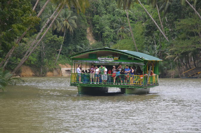Bohol Island Countryside Tour with Buffet Lunch from Cebu City