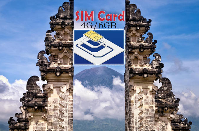 Pre Arrival Sim Card 4G with Data 6GB