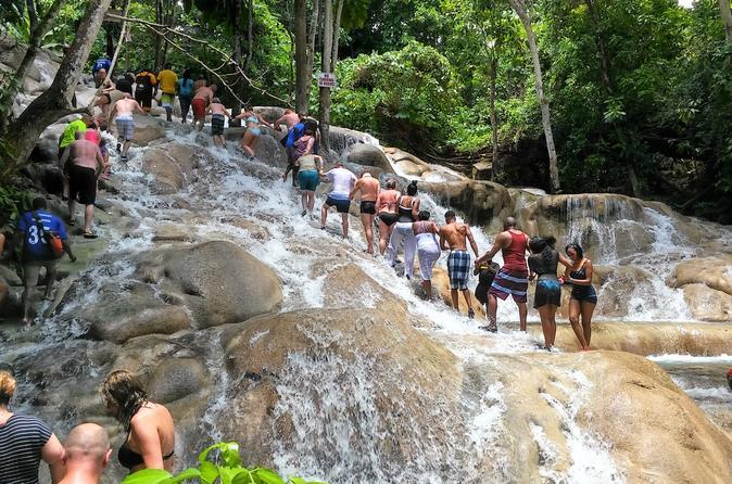 Combo de excursões para Blue Hole, Secret Falls e Cataratas do Rio Dunn
