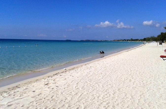 Viagem diurna de Negril para Seven Mile Beach saindo de Montego Bay e Grand Palladium