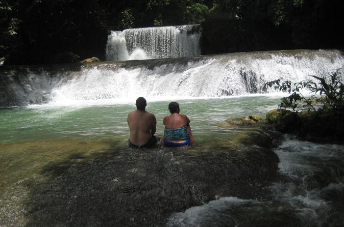 YS Falls plus Black River Safari vanuit Montego Bay en het Grand Palladium