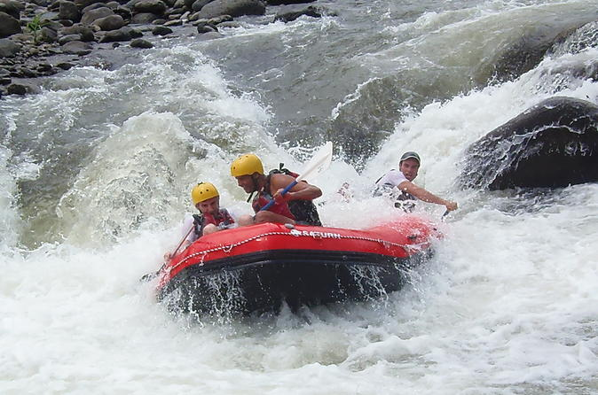 Rafting in The Sarapiqui River Class III - IV