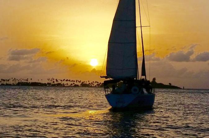 San Juan San Juan Sunset Sail in Puerto Rico Caribbean