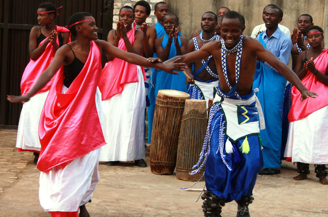 Traditional drumming and dancing class in rwanda in gitarama 206226
