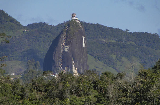 Full Day Peñol and Guatapé Private Tour from Medellin