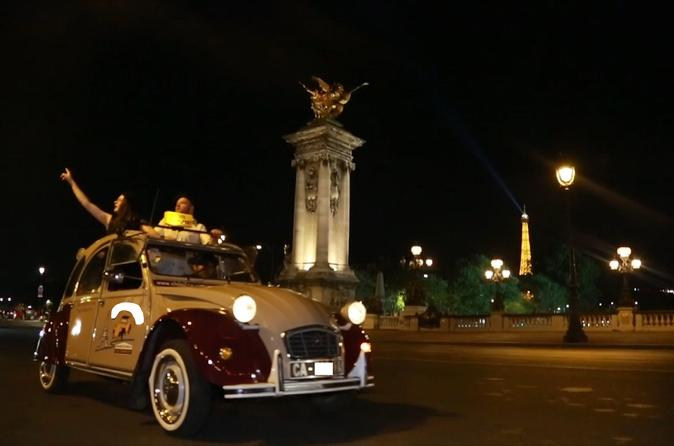 Paris Night Tour in a 2CV Citroen