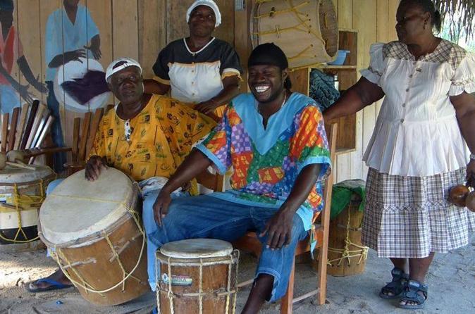 Family fun indigenous garifuna drumming lesson in punta gorda 201275