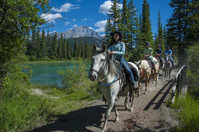 1 Hour Banff Horseback Riding Adventures