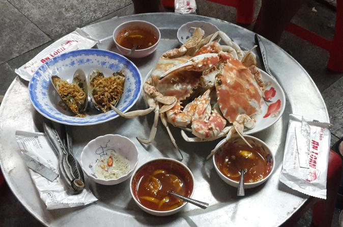 Hanoi Street Food Tour Including Seafood Hotpot Dinner in Vietnam Asia