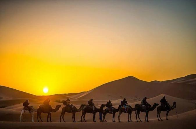 3-Day Merzouga Desert Tour from Marrakech with Camel Ride and Camp