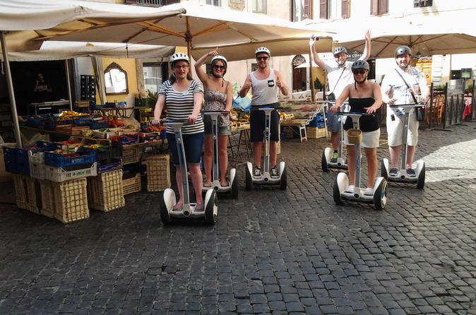 Rome Highlights Tour by Segway  Italy, Europe