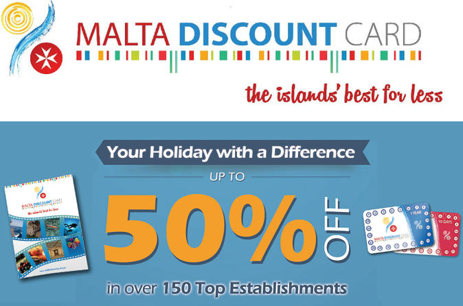 Malta Discount Card - Holiday Card