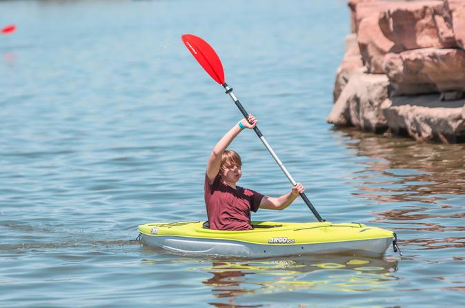 1 or 2 Hour Kayak Rental at Lake Las Vegas